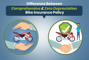 Difference Between Comprehensive and Zero Depreciation Bike Insurance Policy